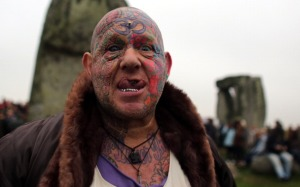 Modern day Druid, Celtic priest. Recognized in Britain as clergy.