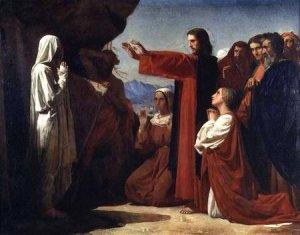 The Raising of Lazarus, 1857, Léon Joseph Florentin Bonnat
