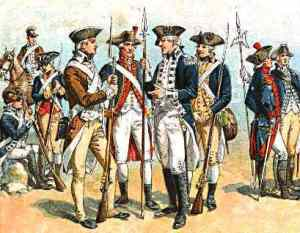 Gen. George Washington established the chaplaincy for the Continental Army.